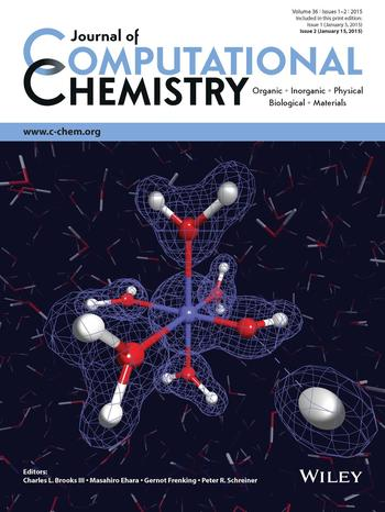 Cover page of J. Comput. Chem. (Jan. 2015)
